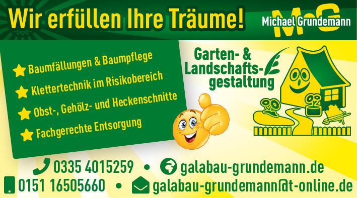 Garten Und Landschaftsgestaltung M Grundemann